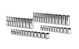 """GearWrench 80314D 47 Piece 1/4"""" Drive 6 Point SAE/Metric Sta"""