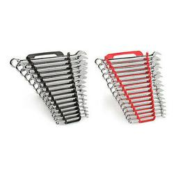 TEKTON Combination Wrench Set with Store and Go Keeper, Inch