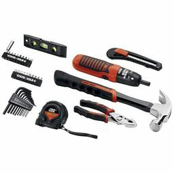 Black & Decker 38-piece Project Kit, Household Tool Set 51-9