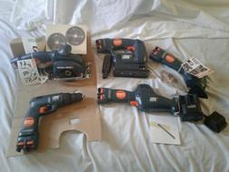 Black and decker power tool set