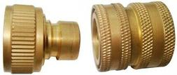 Brass Garden Hose Quick-Connect Inlet Adapter SP01309 for Po