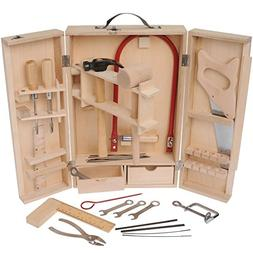 CP Toys Wooden Child-sized Real Tools Set / 15 Pcs.