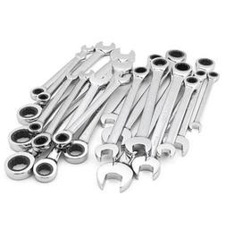 Craftsman 20 PC Combination Ratcheting Wrench SAE Metric Too