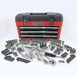 Craftsman 260pc Mechanics Tool Set w/ 3 Drawer Tool Box Ches