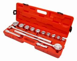 Crescent CTK14ME 3/4-Inch Metric Mechanics Tool Set, 14-Piec