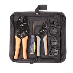 IWISS Crimping Tool Kits with Wire Stripper and Cable Cutter