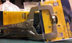 "Irwin Vise-Grip 11R 11"" Original Locking C-Clamp-"