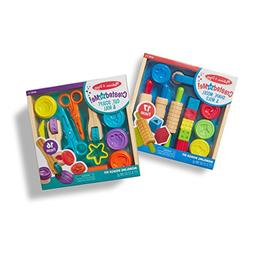 Melissa & Doug Clay Play Activity Set - With Sculpting Tools