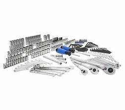 New Kobalt 227 Piece Standard SAE and Metric Mechanic s Tool