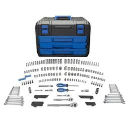 New Kobalt 227-Piece Standard  and Metric Mechanics Tool Set