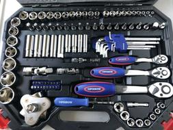 WORKPRO 123pcs Mechanic Tool Set Profesional Grade RV Tool S