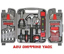 Apollo Tools DT9408 53 Piece Household Tool Set with Wrenche