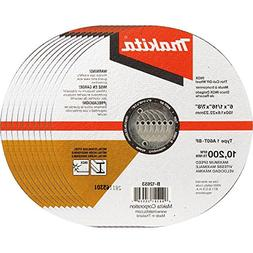 "Makita B-12653-10 6"" x .060"" x 7/8"" INOX Thin Cut-Off Wheel,"