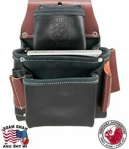 Occidental Leather B5060LH Left Handed Black 3 Pouch Pro Fas