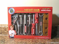 My First Craftsman Basic Tool Set 17 Pieces