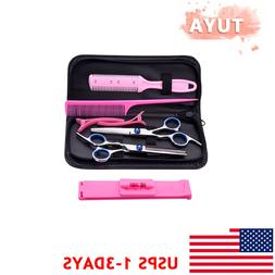 BEAUTY TOOL SET 8 PACK HAIRDRESSING SHEARS HAIR CUTTING SCIS