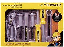 Stanley Jr. Beginner Set of 15 Toy Tools and Accessories