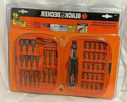 BLACK+DECKER 71-945-5 Drilling and Screwdriving Set, 50-Piec