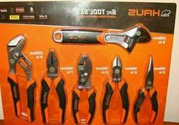 Brand New ! Haus 6 Piece Tool Set - Wrench, Long Nose, Chann
