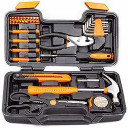 CARTMAN Orange 39-Piece Tool Set - General Household Hand To