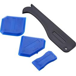 4 Pieces Caulking Tool Set, Sealant Tool, Silicone Grout Rem