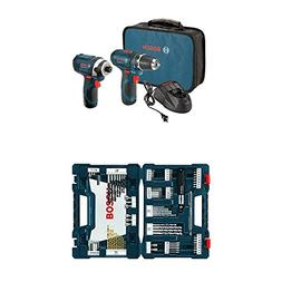 Bosch CLPK22-120 12-Volt Lithium-Ion 2-Tool Combo Kit  with