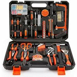 COLMAX Tool Sets 102PCS Home Improvement Kit, Household Repa