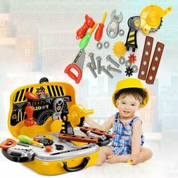 Construction Repair Tool Box Toy for Toddlers Preschoolers K