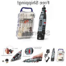 WORKPRO Cordless Rotary Tool Kit Variable Speed 12V Li-Ion B