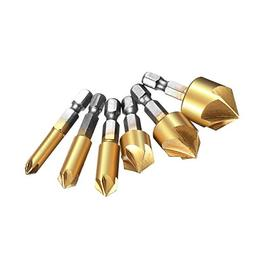 Countersink Drill Bit, Baban Countersink Drill Bit Set 6 Pcs