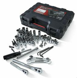 Craftsman 108 Pc Piece SAE Metric Mechanics Tool Set Sockets