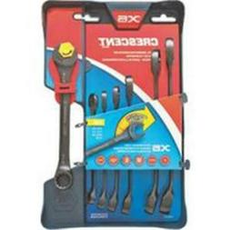 Crescent CX6RWS7 Combination Wrench Set with Ratcheting Open