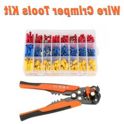 Crimper Pliers Crimping Tool Set Cable Wire Electrical Termi