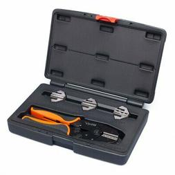 Crimping Tool Set 5 PCS by Wirefy - Ratcheting Wire Crimper