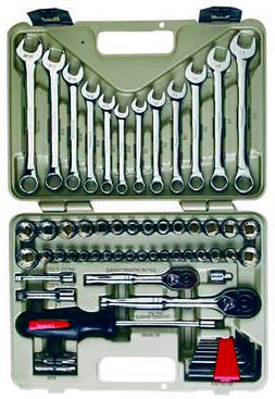 Crescent CTK70MP Professional Mechanic's Tool Set, 70-Piece