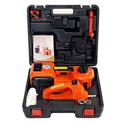 atliprime 12V DC 5.0T Electric Hydraulic Floor Jack and Tire