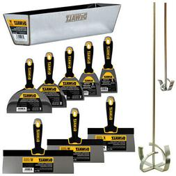 "DEWALT DELUXE Stainless Hand Tool Set | 8/10/12"" Taping Kniv"