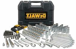 DEWALT DWMT81534 205Pc Mechanics Tool Set Sockets Wrenches L
