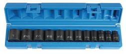 "Grey Pneumatic  3/8"" Drive 12-Piece Standard Socket Set"