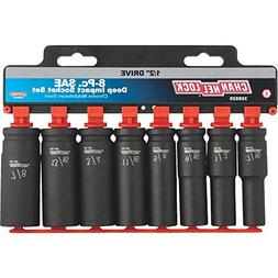 Channellock 8-Piece 1/2 In. Drive Deep Impact Driver Set - 1