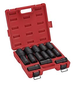 Sunex 4638, 3/4 Inch Drive Deep Impact Socket Set, 14-Piece,