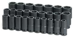 "3/4"" Drive 19-50mm 26 Piece Deep Metric Master Set"