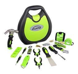Apollo Tools DT4920GR 72 Piece Household Tool Set including
