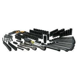 DEWALT DWMT81522 181-Pc. Black Chrome Mechanics Tool Set New