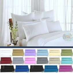 Egyptian Comfort 1800 Count Ultimate 4 Piece Bed Sheet Set D
