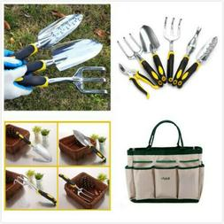 Garden Hand Tools 7 Piece Set Stainless Steel Heavy Duty Gar