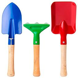 Best quality Gardening Tools For Kids made of Metal with Stu