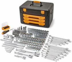 GEARWRENCH 243 Pc. 12 Point Mechanics Tool Set in 3 Drawer S