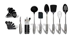 Gibson Home 92021.18 Eclectic 18 Piece Kitchen Tool/Gadget C