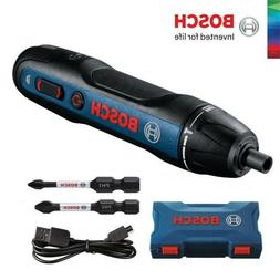 BOSCH GO 2 Smart Screwdriver Rechargeable Cordless 3.6V Mini